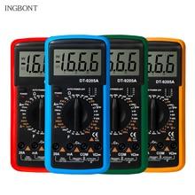 цена на Handheld Digital Multimeter LCD Backlight Portable AC/DC Ammeter Voltmeter Ohm Voltage Tester Meter Multimetro