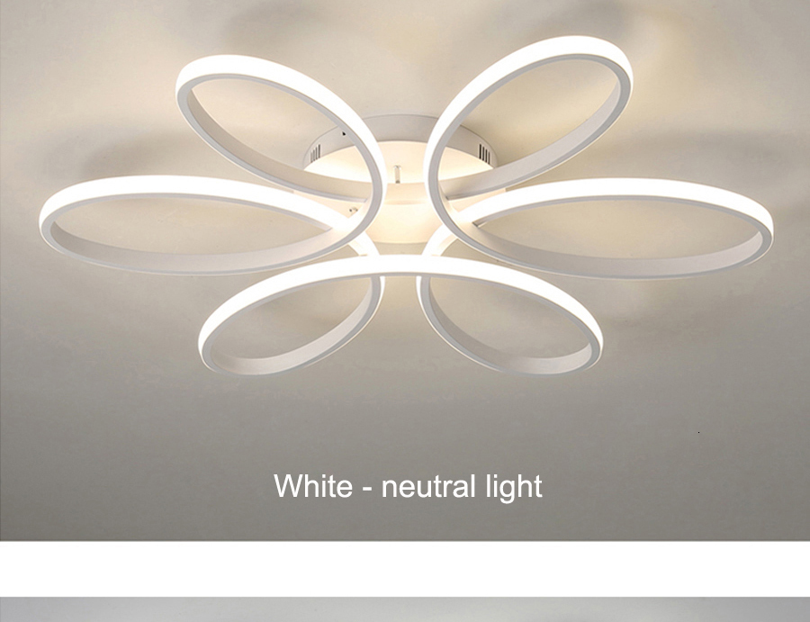 H9d699dba137143f2b834146776822764Y Modern LED Ceiling Lights Remote control for Living room Bedroom 78W 72W 90W 120W Aluminum boby indoor plafond Lamp flush mount
