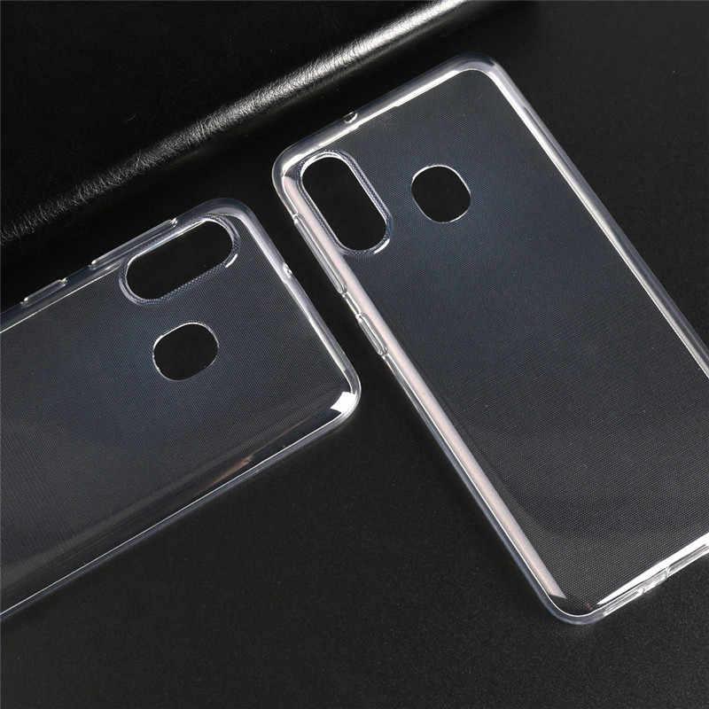 Miękkie przezroczyste obudowy do telefonu dla Infinix Hot S3 X573 X600 X601 X602 X604 X606 X608 X622 silikonowa obudowa ochronna tylna pokrywa