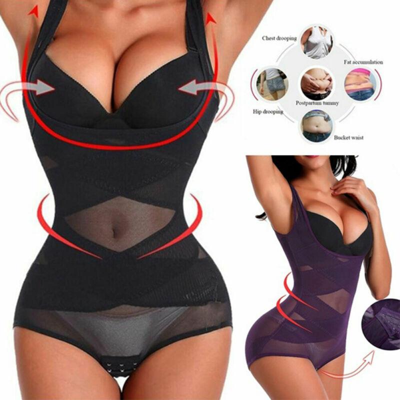 Hirigin Women Body Shaper Slimming Waist Belts Trainer Cincher Underbust Corset Shapewear Cincher Tummy Belt Plus Size L-3XL