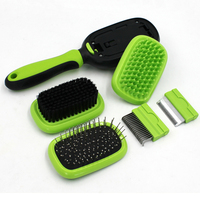 5 In 1 Pet Dog Comb Cat Hair Brush Fur Grooming Trimmer Comb Professional Dog Accessories