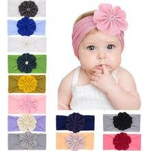 2020 novo bebê náilon bandana coelho bowknot turbante faixas de cabelo para crianças meninas elástico bandana macia do cabelo do bebê acessórios