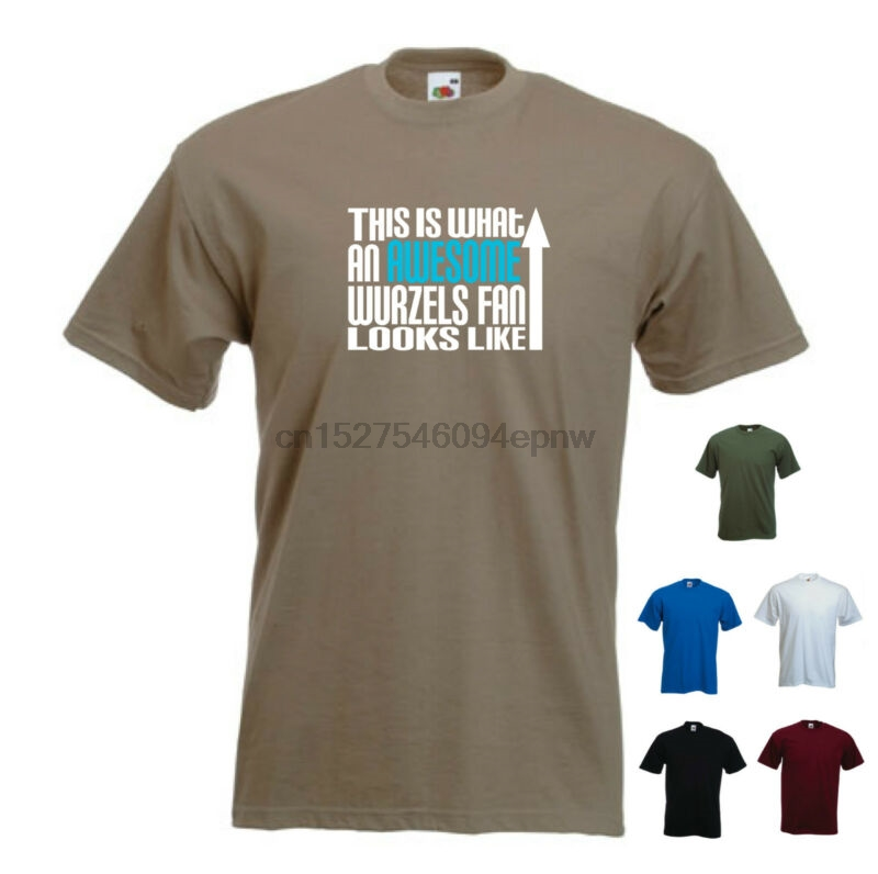 'This is What an Awesome Wurzels Fan Looks Like' The Wurzels Cider Funny Tshirt(2)