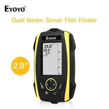 Eyoyo E4 Fish Finder echo sounder Transducer Fishfinder fishing segnalatori acustici pesca echosada bezprzewodowa