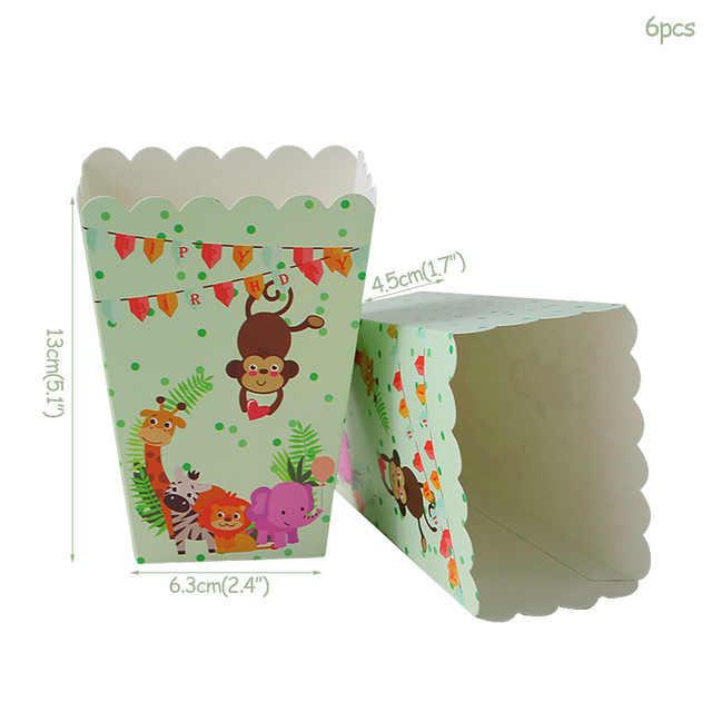 Toalla de papel de fiesta temática jungla Animal elefante León mono jirafa cebra toalla de papel de fiesta niños cumpleaños decoración temas de zoológico fiesta toalla de papel