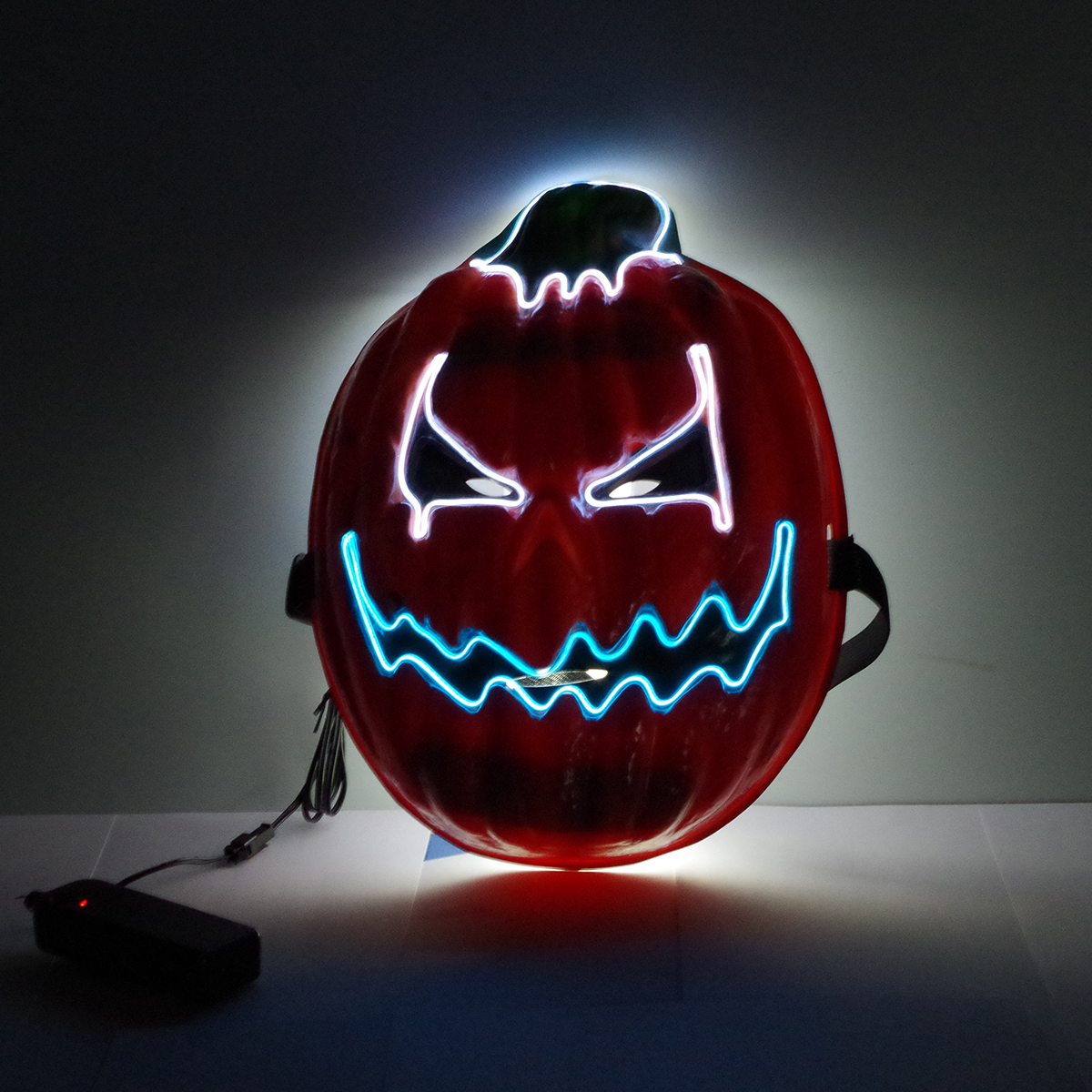 Halloween Mask LED Mask Light Up Party Masks Neon Mask Cosplay Mascara Horror Glow Glow-in-Dark Dark Scary Pumpkin Mask