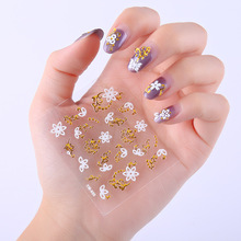 30pcs Colorful Summer Decals Slider Sticker Nail Art Transfer Adhesive Mix Designs Paper Manicure Decorations Decals Wraps N003 10pcs holographic nail foil set transparent ab color transfer sticker decorations 2 5 100cm mix designs manicure nail art decals