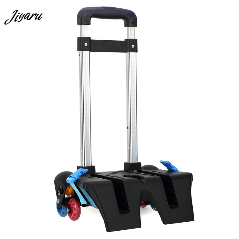 Jiyaru 2019 Pull Rod <font><b>for</b></font> <font><b>Kid</b></font> <font><b>Backpack</b></font> Aluminum Alloy Pull Rod Child Trolley <font><b>School</b></font> Bag Pull Rod Bracket <font><b>for</b></font> Children <font><b>School</b></font> Bag image