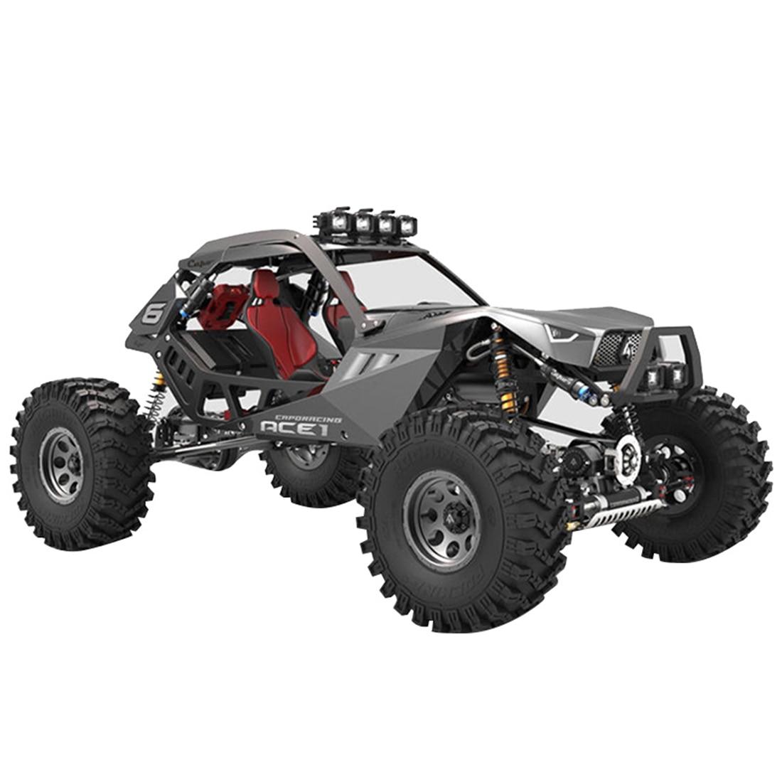 Assembly Capo ACE1 4X4 1:10 Simulated Rock Crawler Off-road Vehicle Model - KIT Bulk Version Model Building Kits