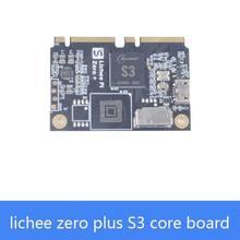 Sipeed lichee zero plus S3, Arm cortex-A7 rdzeń 1.2GHz główna częstotliwość obsługuje ekran kamery MIPI RGB nowy komputer jednopłytkowy