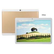KT107 планшет с круглым отверстием 10,1 дюймов HD большой экран Android 8,10 версия модный портативный планшет 8G+ 64G Золотой планшет с европейской вилкой
