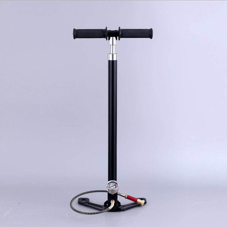 Four Stage High Pressure PCP Pump 4 Stage Hand Operated Air Pump 30mpa 4500psi HPA Tank Hunting Car Bicycle Air Refilling