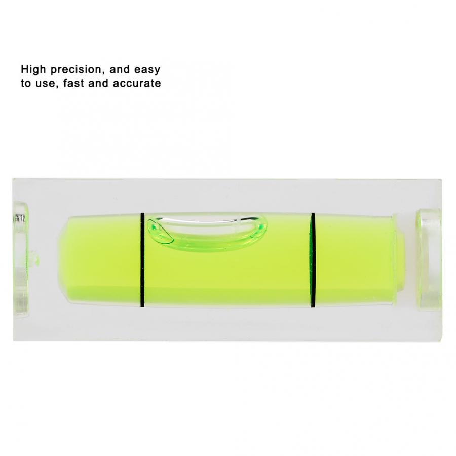 15 40MM Mini Spirit Level Square Quality Bubble Small Level Measuring Tool Adjusting Angle Instrument Balance 5pcs 15