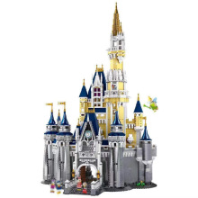 16008 Cinderella Princess Castle City Model 4080Pcs Building Block Kid Toys For Children Gift Movie 71040