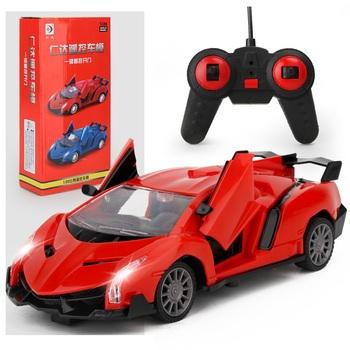 Zdalnie sterowanym samochodowym modelu samochodu zabawki dla dzieci dla chłopców dzieci urodziny prezenty roboty sportowe do ładowania w pojeździe może otworzyć drzwi tanie i dobre opinie Z tworzywa sztucznego CN (pochodzenie) 12*9*6 Samochody Pilot Samochód 1 20 3 years old