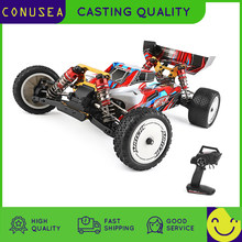 RC Car Wltoys 104001 1/10 4WD 2.4G Racing Car Remote Control Toys for Children 45km/h High Speed Vehicle Models Toys for boys