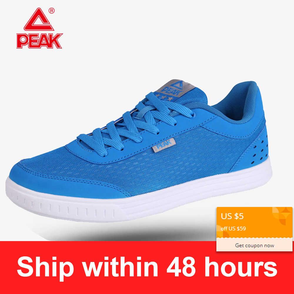 PEAK Men's Running Shoes Casual Tennis