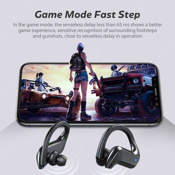 TWS Wireless Headphones Bluetooth Earphones Noise Canceling Sports Waterproof Headset 9D Stereo Wireless Earbuds With Microphone 5