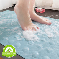 Soft Rubber Non slip Bathroom Mat Safety Shower Bath Tub Mat Skid Proof Anti Bacterial Kid Safety Shower Bath Mat Rubber Pad