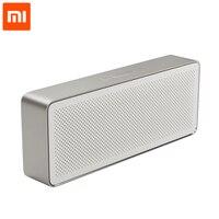 2019 Original Xiaomi Mi Altavoz Bluetooth caja cuadrada 2 portátil estéreo Bluetooth 4,2 HD de alta definición de la calidad de sonido de música