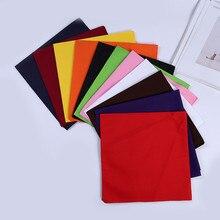 Outdoor Multifunction Bandana Square Scarf 54cm*54cm Black Red Paisley Headband Printed For Women/Men/Boys/Girls
