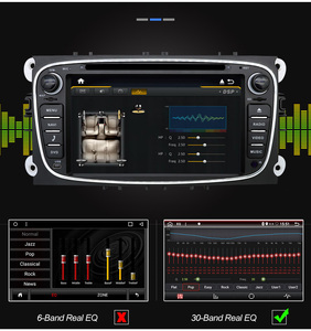 Image 4 - Eunavi 2 Din Android Car DVD Multimedia Player GPS for FORD Focus 2 II Mondeo S MAX C MAX Galaxy 2Din 4G 64GB IPS Touch screen