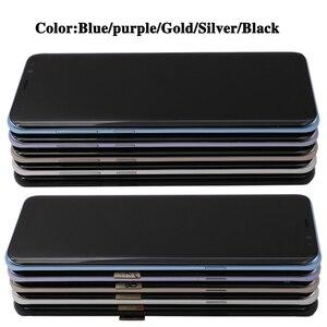 Image 4 - Orijinal S8plus ekran SAMSUNG Galaxy S8 artı ekran yedek LCD dokunmatik Digitizer meclisi G955 G955F çerçeve ile