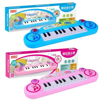 Keyboard Toy Children's Puzzle Enlightenment Mini 12 Button Electric Piano Instrument Toy