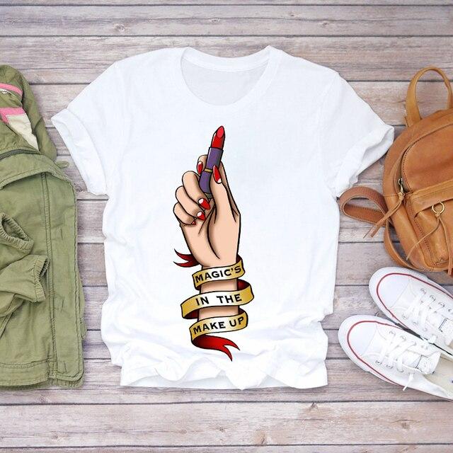 топ футболка женские милые туфли лодочки графический женский фотография