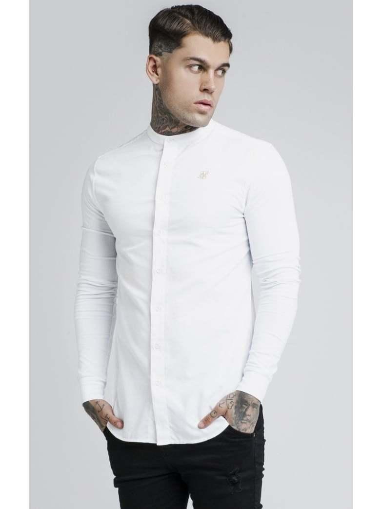 SikSilk Long Shirts Top Men Fashion