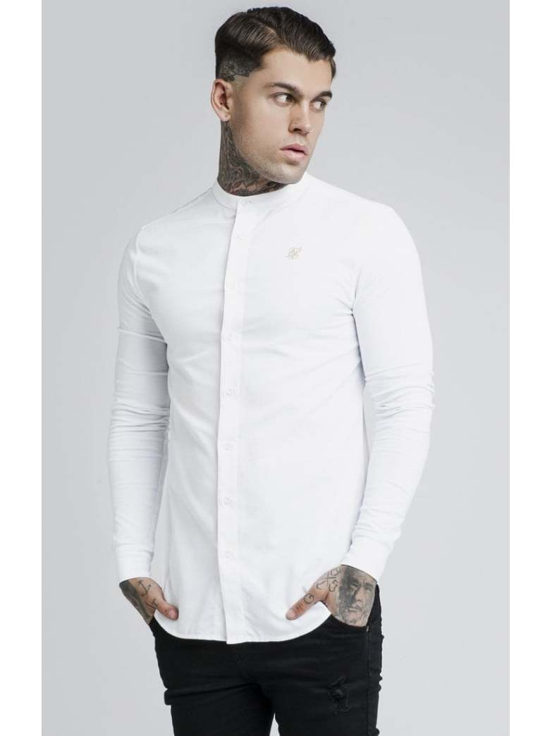 SikSilk Long Shirts Top Men Fashion