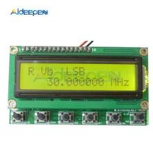 AD9850 6 диапазонов 0~ 55 МГц DDS Анализаторы спектра генератор сигналов цифровое Любительское радио RIT VFO SSB