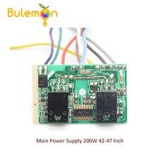 Fuente de alimentación principal de 200W, 42 47 pulgadas, módulo de reparación de TV LCD inteligente completo, módulo de fuente de alimentación LCD Universal, 5 unids/lote