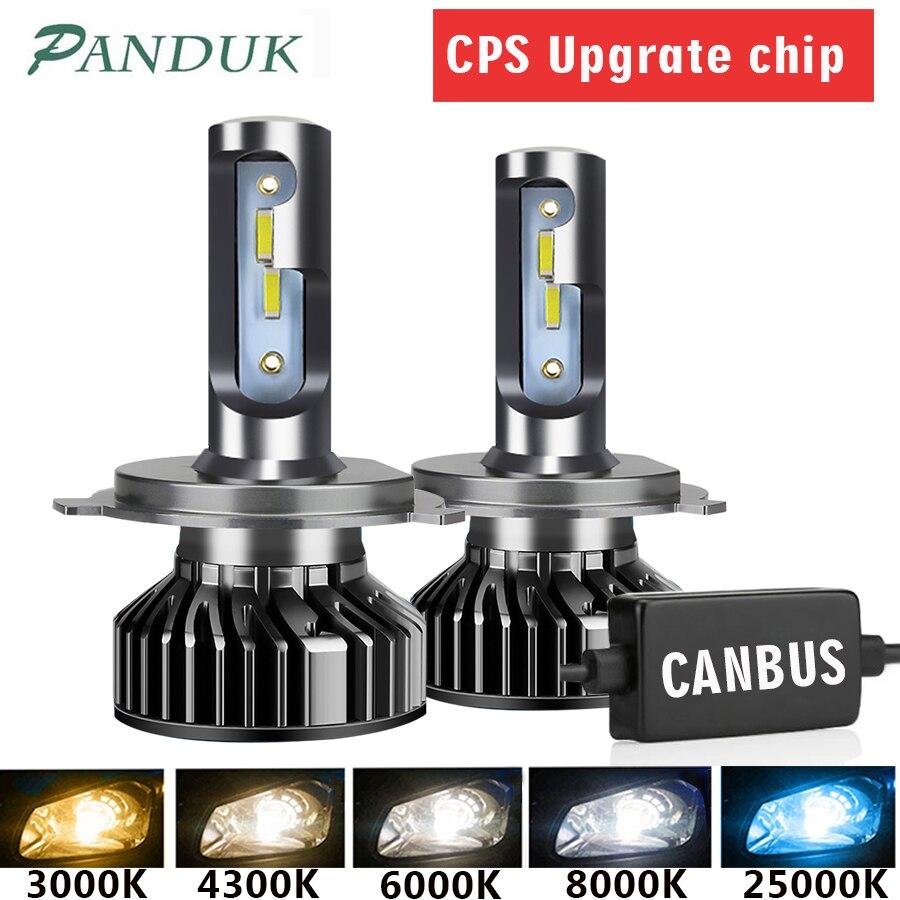Panduk farol do carro csp 16000lm 110w h4 led h7 canbus h1 h3 h8 h11 9005 9006 3000k 6000k carro auto farol luz de nevoeiro lâmpadas