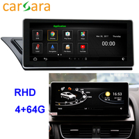 RHD Au di A4 A5 S4 S5 Android 2009 2016 Head Unit DVD Player Car Radio System Touch Screen Android 4G RAM 64G ROM