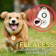 Usb ultra-sônico pulga tick repeller suprimentos para animais de estimação hks99