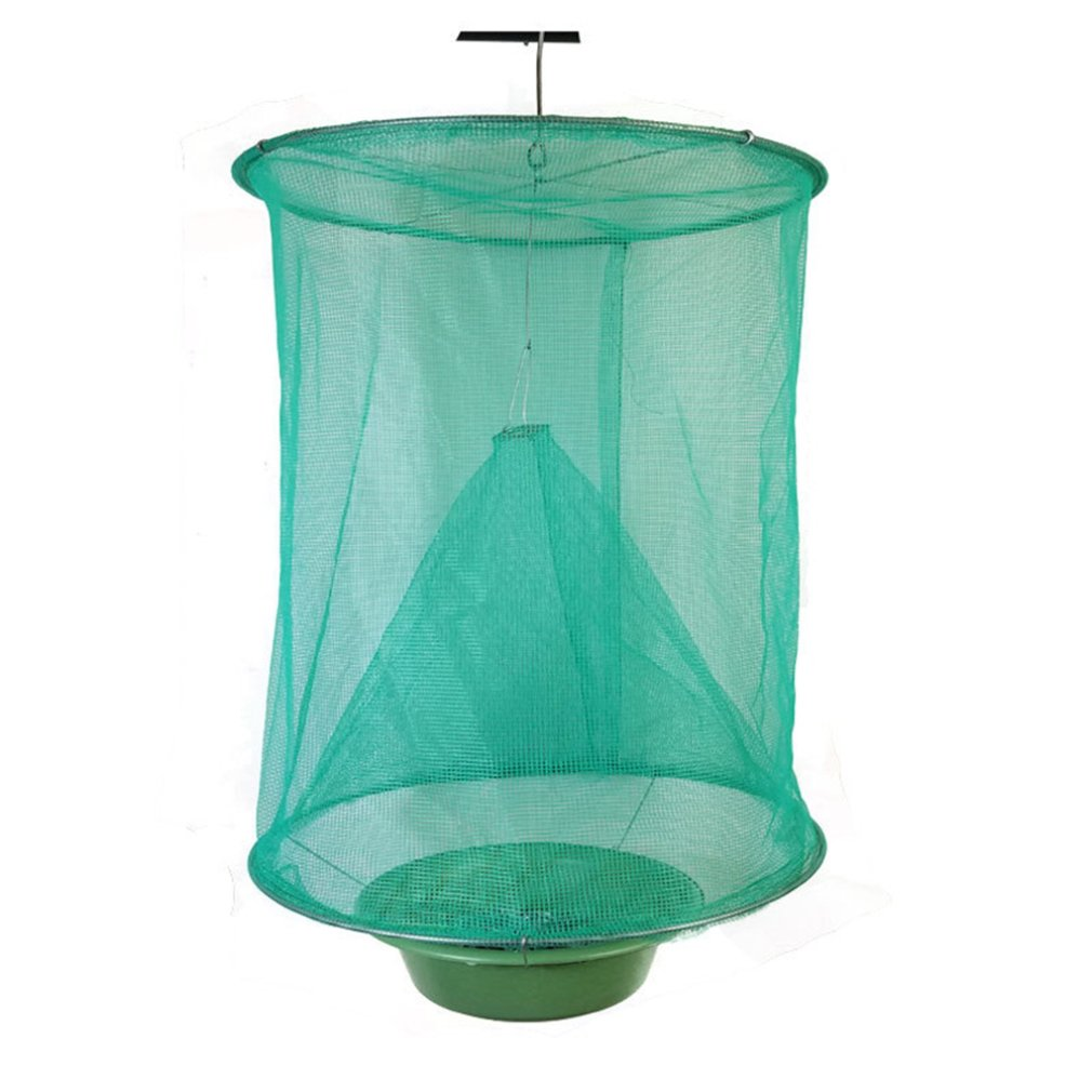 The Ranch Fly Trap  Outdoor Fly Trap Killer Bug Cage Net Perfect For Horses Safety And Environmental Protection