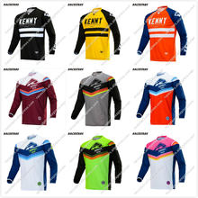 NEW 2020 Quick dry Kenny Moto Jersey MX bike Bike Motocross BMX DH MTB T Shirt Clothes Long Sleeve Breathable