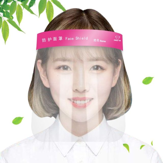 Multipurpose Transparent Protective Adjustable Anti-saliva Dust-proof Full Face Cover Mask Visor Shield for adults for child 1