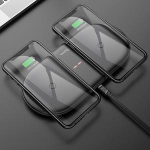 Image 3 - HOCO cargador inalámbrico Dual 2 en 1 para Airpods Pro, cargador de inducción, para iPhone X, XR, XS, 11 Pro, Max, Samsung S10, Xiaomi, QI