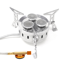 Lixada 3-burner Outdoor Camping Stove Gas Stove Portable Foldable Stainless Steel Cooking Stove Furnace for Hiking Cookware стоимость