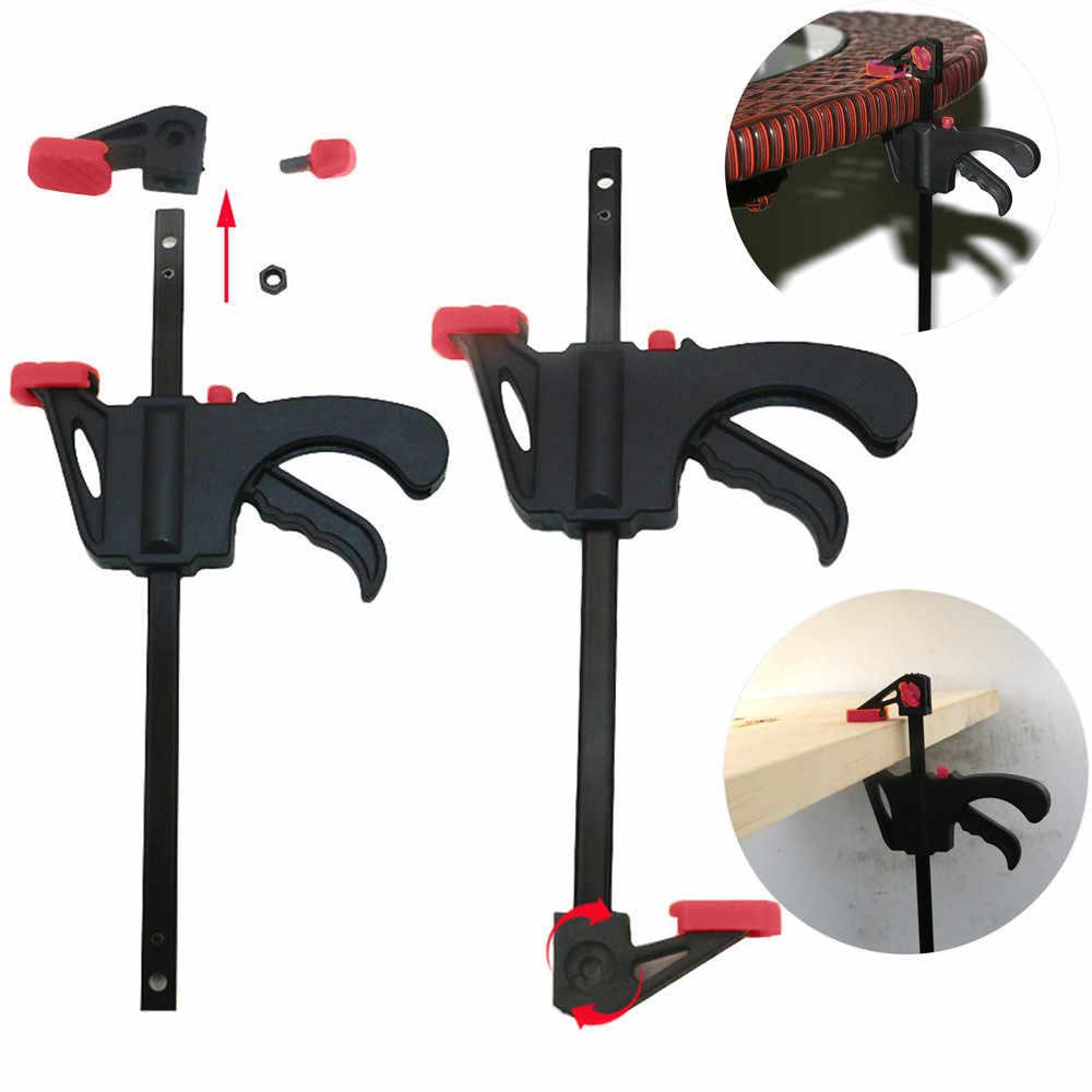 4 Cal klip Quick Ratchet prędkość zwalniania wycisnąć drewna pracy Bar F Clamp Grip Kit rozrzutnik gadżet narzędzia narzędzia ręczne diy