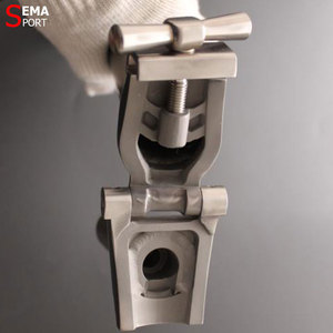 Image 4 - Titanium Headtube Stem Bromptons Super Ligth 460g SEMA 25.4mm Clamp M/S Type High Strength Quill Stem  Bicycle Gold/Black/Custom
