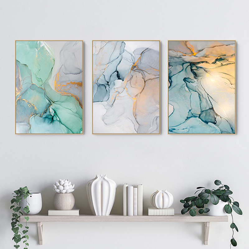 Современная Простота абстрактные картины на холсте модульные картины на стену холст для украшения гостиной без рамки Новый|Рисование и каллиграфия| | - AliExpress