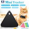 Pet Smart Mini GPS Tracker Pet Locator Anti-lost Waterproof Bluetooth Tracker Triangular Kids Dog Cat Tracker Multiple Colors 1