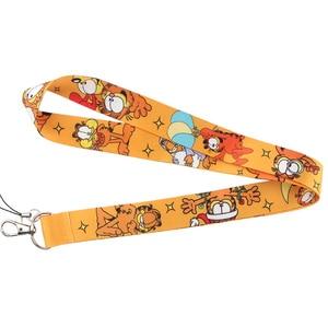 Image 2 - CA223 Wholesale 10pcs/lot Cat 2019 New Lanyard Key Strap for Phone Keys Cartoon Lanyards ID Badge With Key Ring Holder