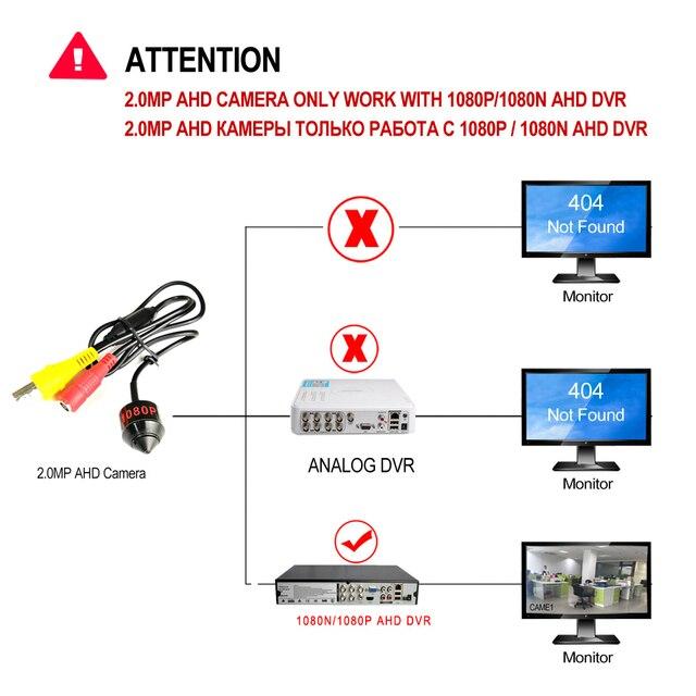 Купить мини цилиндрическая ahd камера видеонаблюдения 1080p hd с портом