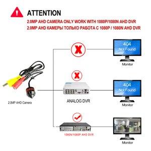 Image 4 - REDEAGLE 1080P HD Mini Pallottola AHD Security Camera BNC Porta Custodia In Metallo per 2MP CCTV AHD DVR Sistema