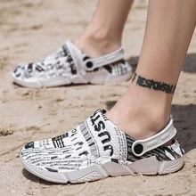 Weightlight PVC unisex Croc sandals beach shoes women charms clogs garden woman 2020