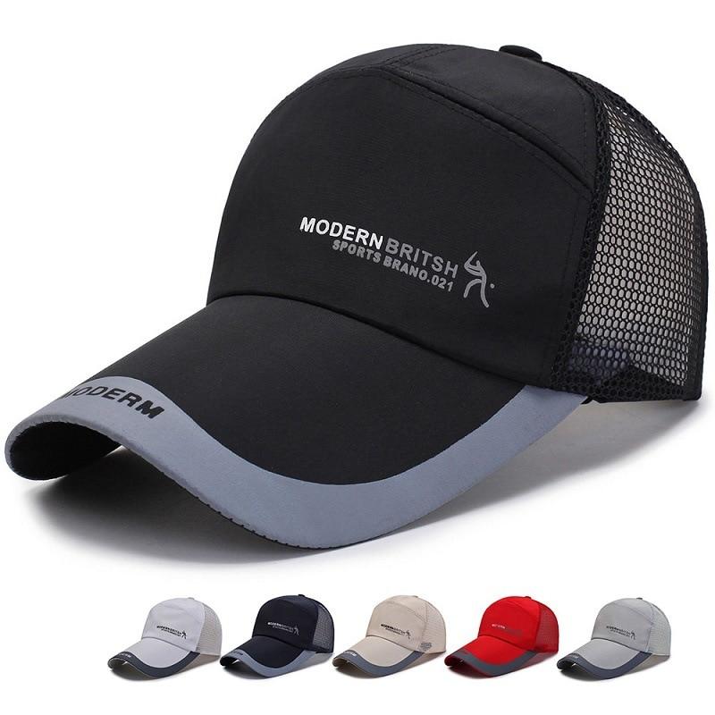 Outdoor Sports Baseball Hat Mens Distressed Vintage Baseball Cap Snapback Trucker Hat Hiking Hat Running Hat by Sun Hat